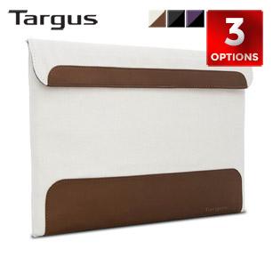 "Targus Ultralife Thin Canvas Sleeve for 13.3"" Laptops"