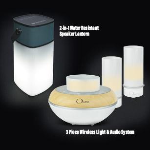BEM Ohana Twilight Wireless Light & Audio System
