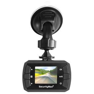 SecurityMan MicroHD Dashcam with Built-In Impact Sensor