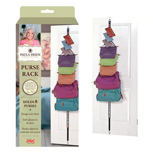 Paula Deen Over-The-Door Hanging Purse Rack