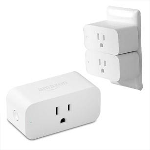 Amazon Smart Plug Works With Alexa - White