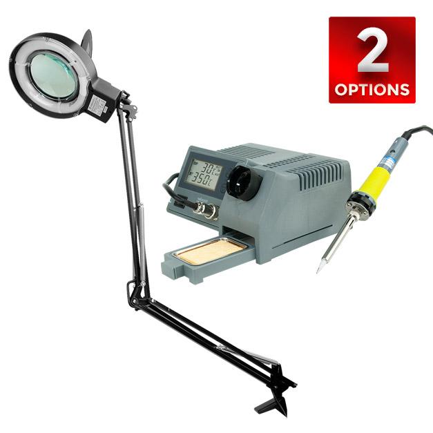 Velleman Soldering Station & Magnifying Lamp