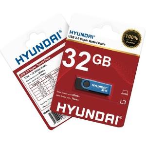 4ad45cafd067b0 MHYU3B32G Hyundai 32GB USB 3.0 Flash Drive - 32 GB - USB 3.0 - Blue ...
