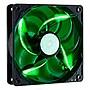 Cooler Master SickleFlow 120 Sleeve Bearing 120mm Green LED Silent Fan (Open Box)