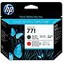 HP 771 Matte Black/Chromatic Red DesignJet Printhead CE017A