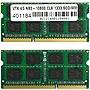 Visiontek 8GB (2x4GB) DDR3 1333 MHz 1.5V Non-ECC Unbuffered 204pin SoDIMM Module