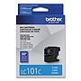 Brother LC101C Innobella Standard Yield Cyan Ink Cartridge