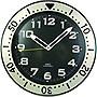 "Timekeeper 5155BB 12"" Round Glow-in-the-Dark Wall Clock"