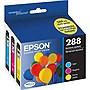 Epson+DURABrite+Ultra+288+Original+Ink+Cartridge+-+Cyan%2c+Magenta%2c+Yellow