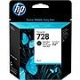 HP 728 Original Ink Cartridge Matte Black Inkjet F9J64A