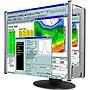 Kantek Lcd Monitor Magnifier Fits 24in Widescreen Monitors MAG24WL