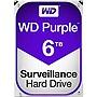 """WD WD60PURZ Purple 6TB 3.5"""" SATA 5400rpm Surveillance Hard Drive"""