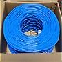 Premiertek 1000ft Cat5e Bulk Cable (Blue)