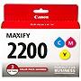 Canon PGI-2200 CMY Original Ink Cartridge - Y/C/M - Inkjet - 3 Pack