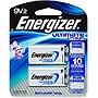 Energizer Ultimate Lithium 9V Battery L522BP2