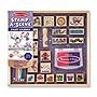 Melissa & Doug Stamp-a-Scene Stamp Pad: Fairy Garden