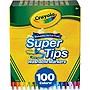 Crayola Super Tips Washable Markers 100 Unique Colors