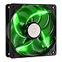 Cooler Master SickleFlow 120 Sleeve Bearing 120mm Green LED Silent Fan Refurb