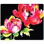 Centon OTM Floral Prints Black Mouse Pad, Brilliant Bloom