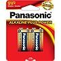 Panasonic Alkaline Plus Battery 6AM6PA2B