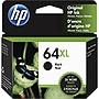 HP 64XL Original Ink Cartridge Black Inkjet High Yield 1 Each N9J92AN#140