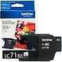 Brother Innobella LC71BK Ink Cartridge - Inkjet - Standard Yield - 300 Pages - Black - 1 Each