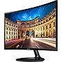 "Samsung C24F390FHN 23.5"" LED LCD Monitor 16:9 4 ms 1920 x 1080 16.7 Million Colors 250 Nit 3000:1 Full HD HDMI VGA 25 W High Glossy Black LC24F390FHNXZA"