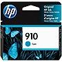 HP 910 Original Ink Cartridge Cyan 3YL58AN140