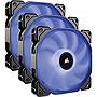 Corsair Air Series AF120 LED 2018 Blue 120mm Fan Triple Pack 3 Pack CO9050084WW