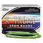 "Alliance X-Treme Rubber Bands Size 117B 0.08"" Gauge Lime Green 1 lb Box 200/Box 02005"