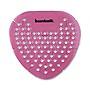 Boardwalk Gem Urinal Screens Spiced Apple Scent Red 12/Box BWKGEMSAP
