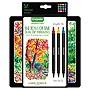 Crayola Sketch & Detail Dual Ended Markers X-Fine/Fine Bullet Tip Assorted Colors 16/Set 586511