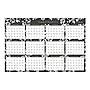 Blue Sky Laminated Baccara Dark Calendar 36 x 24 2021 116053