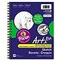 Pacon Art1st Sketch Diary 60 lb 11 x 8.5 White 70 Sheets 4794