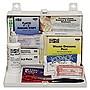 Pac-Kit Safety 25-Person Steel First-Aid Kit w/Eyewash 6100