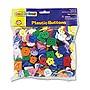 Pacon Plastic Button Assortment 1 lb Assorted Colors/Sizes 6120