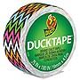 "Shurtech Ducklings 1"" Core 0.75"" x 15 ft Multicolor High Impact Zig Zag DUC283262"