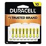 Duracell Hearing Aid Battery #10 16/Pack DA10B16