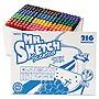 Sanford+Scented+Stix+Watercolor+Marker+Set+Fine+Bullet+Tip+Assorted+Colors+216%2fSet+1905315