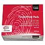 Inkless Fingerprint Pad 2 1/4 x 1 3/4 Black Dozen 03127