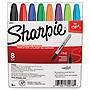 Sanford Fine Tip Permanent Marker Assorted Colors 8/Set 30078