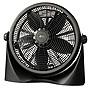 "Alera 16"" Super-Circulation 3-Speed Tilt Fan Plastic Black ALEFAN163"
