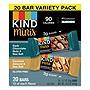 Minis Dark Chocolate Nuts and Sea Salt/Caramel Almond and Sea Salt 0.7 oz 20/Pack 27964