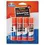 Elmer's Washable School Glue Sticks 0.24 oz Applies and Dries Clear 4/Pack E542