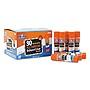Elmer's Washable School Glue Sticks 0.24 oz Applies and Dries Clear 30/Box E556