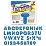 """Trend Ready Letters Sparkles Letter Set Blue Sparkle 4""""h 71/Set T1617"""