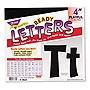 "Trend Ready Letters Playful Combo Set Black 4""h 216/Set T79741"