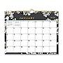 Blue Sky Baccara Dark Wall Calendar 11 x 8.75 2021 116052