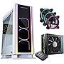 Enermax ECA3500WA-500TR ARGB ATX Mid Tower Case PSU 3xRGB Fans Bundle