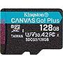 Kingston Canvas Go! Plus 128 GB Class 10/UHS-I U3 microSDXC SDCG3128GBSP